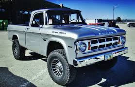 100 Restored Trucks Silver Power Wagon About Dodge Pinterest