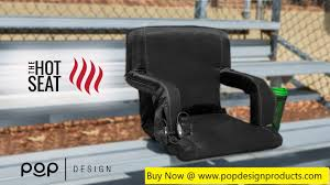 The Hot Seat - World's First USB Heated Stadium Chair By Pop ... Cosco Simple Fold Full Size High Chair Etched Arrows Walmartcom Folding Vtip Stabilizer Caps 100 Pack Fits 78 Od Tube Top Of Leg Replacement Parts Works With Metal And Padded Chairs Britax Jogging Stroller Free Part Consumer Reports Mocka Original Highchair Cushions Boon Flair Harnessbuckle Straps Universal Seat Beltstraps Harnessreplacement For Wooden Pushchair Baby 5 Point Safety Belt Icandy Michair Complete Joie Mimzy Snacker 123 Artwork How To Repair The Webbing On A Vintage Midcentury Car Expiration Long Are Seats Good For