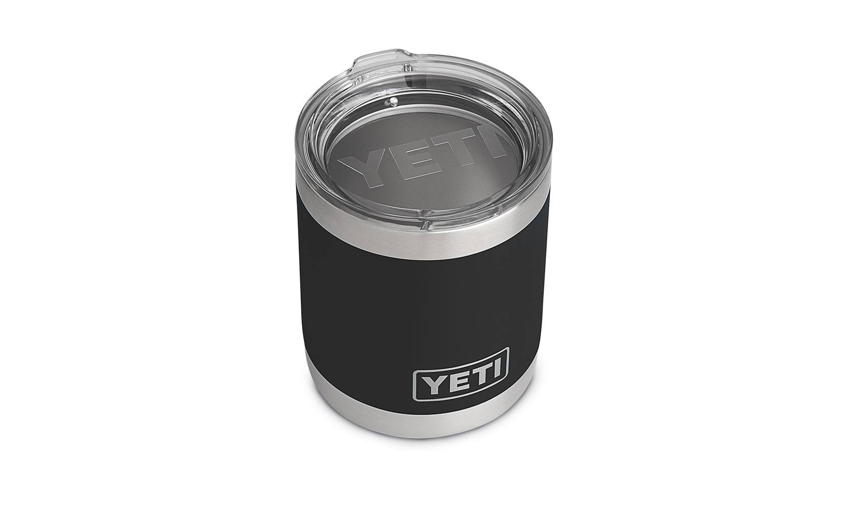 Yeti Rambler Lowball Insulated Stainless Steel Tumbler with Lid - 10oz