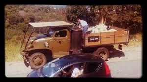 100 Wood Gasifier Truck Gasifier Truck Bruno Grossi Gazogne