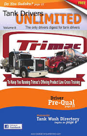 Tanker Drivers Unlimited By City Saver Magazine - Issuu