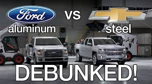 Debunking Chevy Silverado Vs Ford F150 Aluminum Test Commercials ...