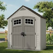 Rubbermaid 7x7 Gable Storage Shed by Rubbermaid Gable Storage Shed Storage Sheds Collections