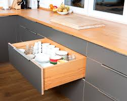 moderne küche buche multiplex hpl beschichtung und edelstahl