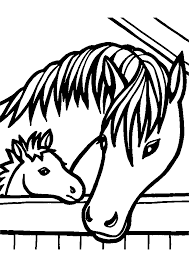 Coloriage Chevaux Sauvage Awesome Impressionnant Dessin A Imprimer