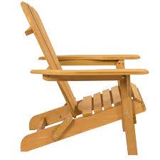 Sage Green Wood Adirondack Chair For Outdoor Patio Garden ...