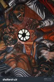 Famous Mexican Mural Artists by Mural By Jose Clemente Orozco University Stock Photo 11046805