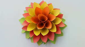 How To Make A Construction Paper Flower
