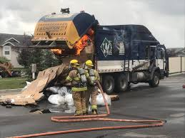 Recycling Truck On Fire In Central Alberta – Red Deer Advocate Amazoncom Playmobil Green Recycling Truck Toys Games Adventure Force Light And Sound Toy Vehicle Recycle Medium Action Series Brands Coloring Page Free Printable Coloring Pages A Made From Recycled Materials Orange Garbage Transportation Tipper With Cabin R Is For Alphabet Trucks To Z Pinterest Facts On In Australia That You May Not Know West Bin Idem Lesson Plan Preschoolers Ewaste Its Way A Small Business Pick Up Best Choice Products 116 Scale Friction Powered