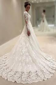 Long Sleeves Wedding Gownsprincess Dresslace Dresssweetheart Dress