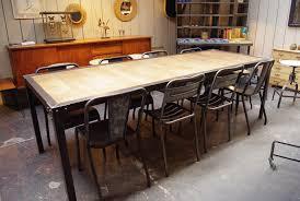 bien table basse bois metal 6 table industrielle par le