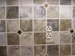 backsplash ideas interesting faux tile backsplash faux wall tiles