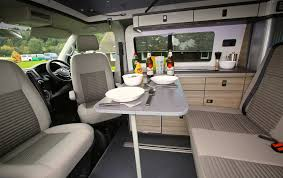 VW T5 Ecowagon Campervan Conversion Interior