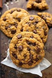 Libbys Pumpkin Orange Cookies by Pumpkin Oatmeal Chocolate Chip Cookies Non Cakey Version