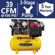 EMAX INDUSTRIAL PLUS 30 Gal. 18 HP 2-Stage Stationary Gas Truck ... Car Air Compressor 12v 4x4 Portable Tyre Deflator Inflator Pump 300l Wabco Semi Truck Big Machine Parts Used Puma Gas At Texas Center Serving Ultimate Ford F150 Safer Towing Better Handling Part 1 On Board Kit Shane Burk Glass And Cummins Ink Air Compressor Deal News China Tire 150 Psi Mounted Compressors Pb Loader Cporation Board Mounted To Truck Frame 94 Gmc Trucks 4wd Using An In A Vehicle
