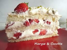 gateau fraise avec genoise les meilleures recettes de gâteaux