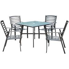 Pemberton 5-Piece Commercial-Grade Patio Dining Set With 4 Stackable Dining  Chairs And A 38 Modern Edge Inoutdoor Stacking Ding Chair White Outdoor Interiors Danish Stackable Eucalyptus 4pack Aventura Commercial Grade Hot Item Set Hotel Project Wicker Rattan Patio Table Magic Style Pemberton 5piece Commercialgrade With 4 Chairs And A 38 Muut Black Grey Of Hampton Bay Mix Match Brown Luciano Armchair Shop Garden Tasures Steel Mid Telescope Casual Avant Mgp Alinum Armless Aldergrove Robert Alinium Cafe