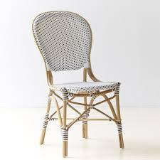 chaises en osier chaise bistrot 13 modèles pour une ambiance bistrot