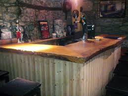 Basement Bar Ideas And Designs Pictures Options Tips. Rustic Wood ... Bar Reclaimed Wood Rustic Countertop Awesome Bar Top Ideas 44 Homemade Top Wikiwebdircom Building A Counter Best Tops On Tables Homebrewing Diy Fishing A Beer Cap W Epoxy Keezer Lid Diy Alinum Foil Coffee Table Kelly Gene Decorating Polish Counter Making Pinterest Concrete On My Outdoor The Shack John Everson Dark Arts Blog Archive How To Build Your Hand Crafted Live Edge Walnut And Curved Reception Copper 2017 Creative Pictures Pinkaxcom