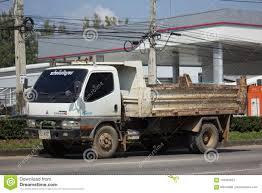 Private Mitsubishi Canter Dump Truck Editorial Stock Photo - Image ...