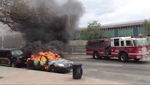 Firetruck Responds To Police Car On Fire - Baltimore Sun Fire Truck Fans To Muster For Annual Spmfaa Cvention Hemmings Ignites At Grandview Fire Station Push Ride On Truck Best Choice Products File1964 Ford Fseries Sipd Heightsjpg Wikimedia Commons On The Driver Capes Then Look What Happens Youtube Car Collides With Engine Mighty Motorized Goliath Games Big Red Isolated White Background 3d Illustration Driving 1mobilecom Amazoncom Bruder Mack Granite Engine Water Pump Toys Bald Eagle Lands Firetrucks 911 Flag Display Campaigning Against Cancer Pink Scania Group
