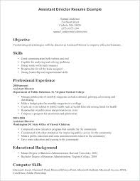Sample Resume Qualifications Skill Samples An Example Of A