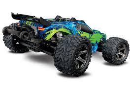 100 Traxxas Stadium Truck Rustler VXL Brushless 110 RTR 4x4 Green