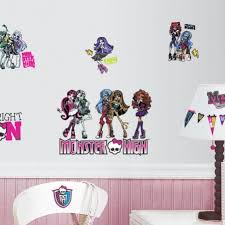monster high wall decals monster high wall stickers roommates
