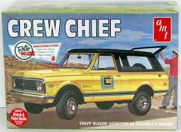 Crew Chief Chevy Blazer Engineer's Truck Or Off-Road Vehicle AMT 897 ...