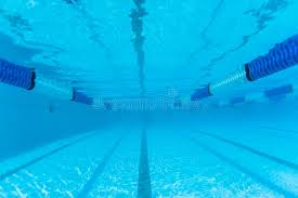 Download Swimming Pool Lane Underwater Stock Image