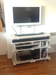 Pallet Tv Stand Customized From Recycled Pallets Cabinet Plans