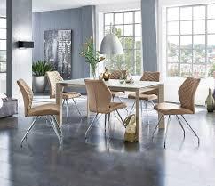 casavanti stuhl liz lederlook esszimmer raumgestaltung