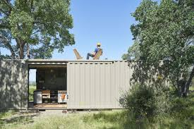 100 Cargo Container Cabins Shipping Container Cabin Goes Offgrid In California Wilderness Curbed