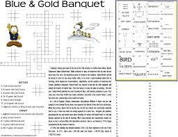 Free Halloween Brain Teasers Printable by Akela U0027s Council Cub Scout Leader Training Blue U0026 Gold Banquet