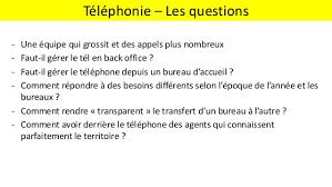 comment repondre au telephone au bureau retours d expérience la téléphonie multi