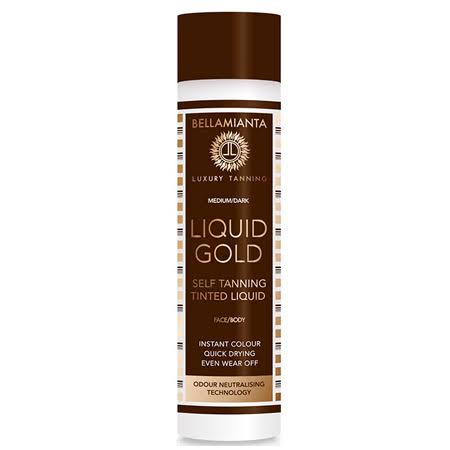 Bellamianta Liquid Gold Self Tanning Tinted Liquid - 150ml