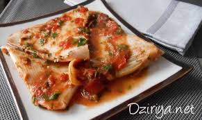 cuisiner une raie raie à la sauce tomate à l algérienne dziriya