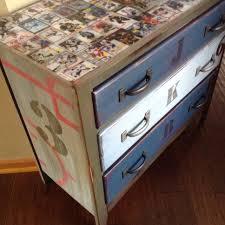 Broyhill Fontana Dresser Craigslist by Dresser I Restored For A Kids Room Hockey Dresser Resin Epoxy