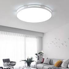 moderne led deckenleuchte le wohnzimmer beleuchtung leuchte schlafzimmer küche oberfläche montieren decke lichter fernbedienung dimmbare