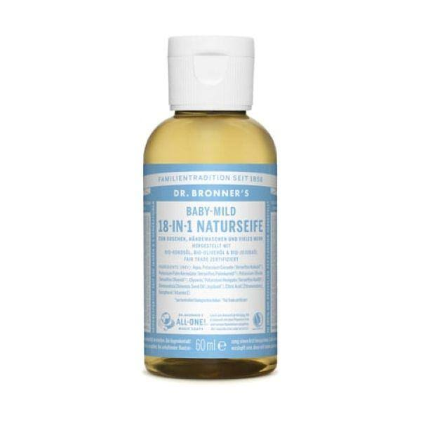 Dr. Bronner's Magic Soaps 18-in-1 Pure-Castile Soap - Baby Mild Unscented