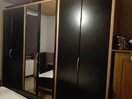 hülsta schlafzimmer buche natur lack schwarz matt komplett