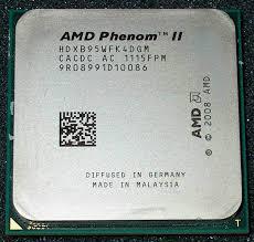 100 B95.com AMD Phenom II X4 B95 30GHz 4x512KB6MB L3 Socket AM3 QuadCore CPU