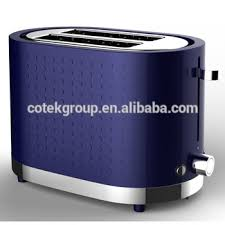 Purple 1000watts Dot Design 2 Slice GS CE EMC CB ROHS LFGB Bread Toaster