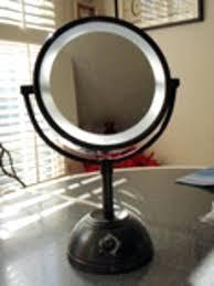 Extendable Bathroom Mirror Walmart by Best Lighted Makeup Mirror Walmart Bronze Vanity Magnifying Beauty