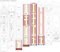 Carnival Conquest Deck Plans by Costa Neoriviera Deck Plans Diagrams Pictures Video