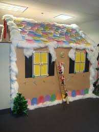 Cubicle Decoration Themes In Office For Christmas by 7 Best Decoration Ideas For Cubicles Images On Pinterest