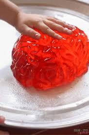 Pumpkin Spice Jello Playdough by Brain Dissection Jell O Sensory Play Sugar Spice And Glitter