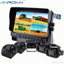 100 Backup Camera For Truck 2019 Anroan Car DVR Recorder 7 Monitor System