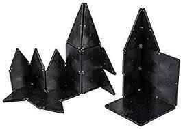 amazon com magna tiles 15032 black 32 pc set toy toys games