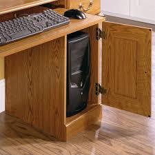 Cymax Desk With Hutch by Small Wood Computer Desk With Hutch In Carolina Oak 401353